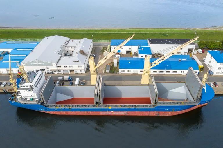 Drohennfotos Luftaufnahme Schiff Bremerhaven Tobias Mittmann 2