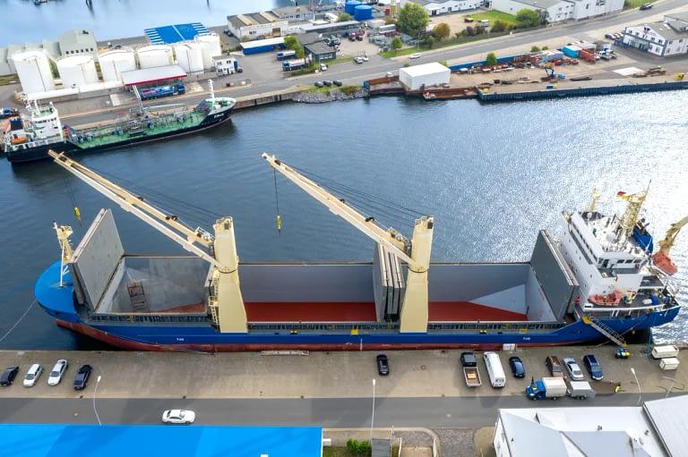 Drohennfotos Luftaufnahme Schiff Bremerhaven Tobias Mittmann 3