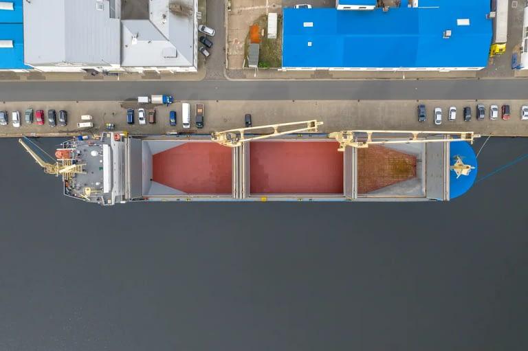 Drohennfotos Luftaufnahme Schiff Bremerhaven Tobias Mittmann 4