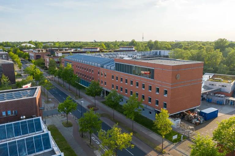 Drohnenfoto Luftaufnahme Max Planck Institut Bremen 1