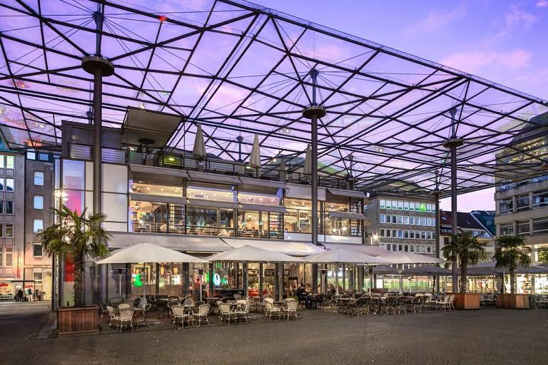 Blaue Stunde Architekturfotografie Bremen 1
