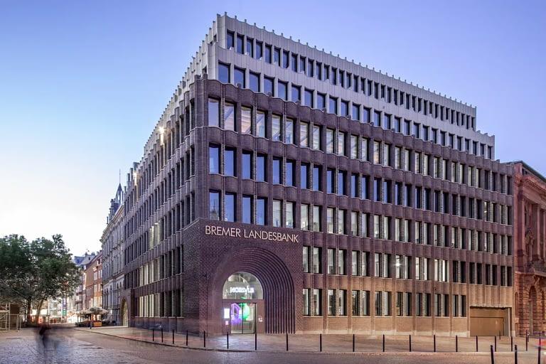 Blaue Stunde Architekturfotografie Bremen 2