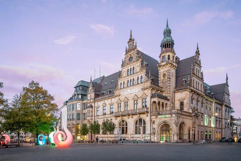 Blaue Stunde Architekturfotografie Bremen 3