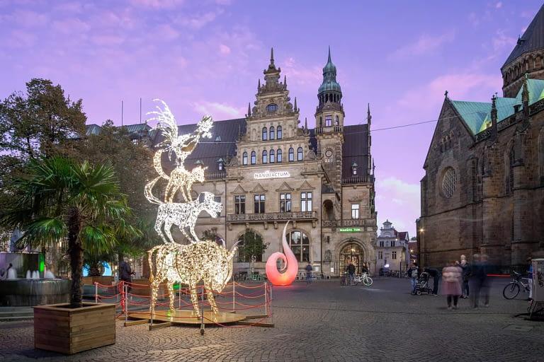 Blaue Stunde Architekturfotografie Bremen 4