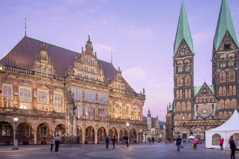 Blaue Stunde Architekturfotografie Bremen 8