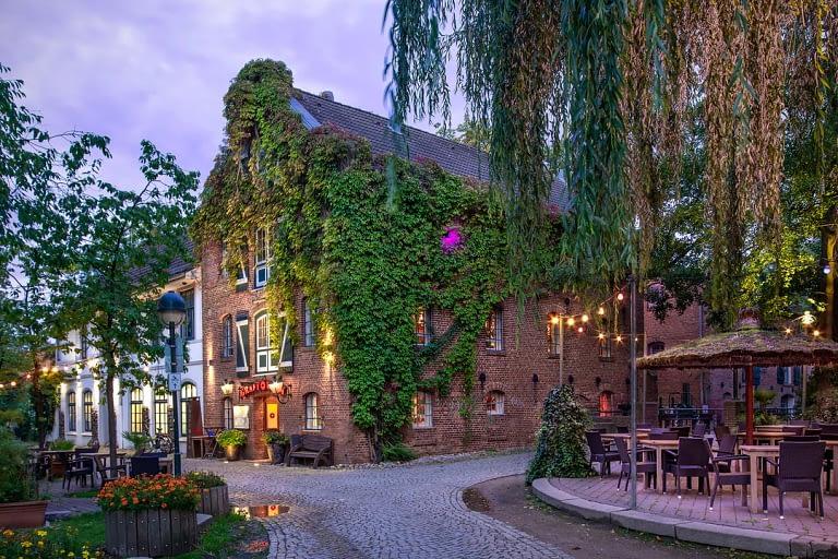 Blaue Stunde Architekturfotografie Delmenhorst 1