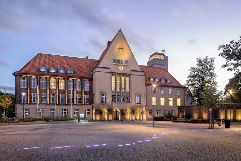 Blaue Stunde Architekturfotografie Delmenhorst 2