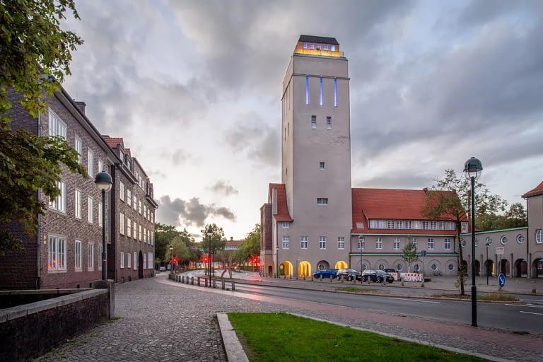 Blaue Stunde Architekturfotografie Delmenhorst 3
