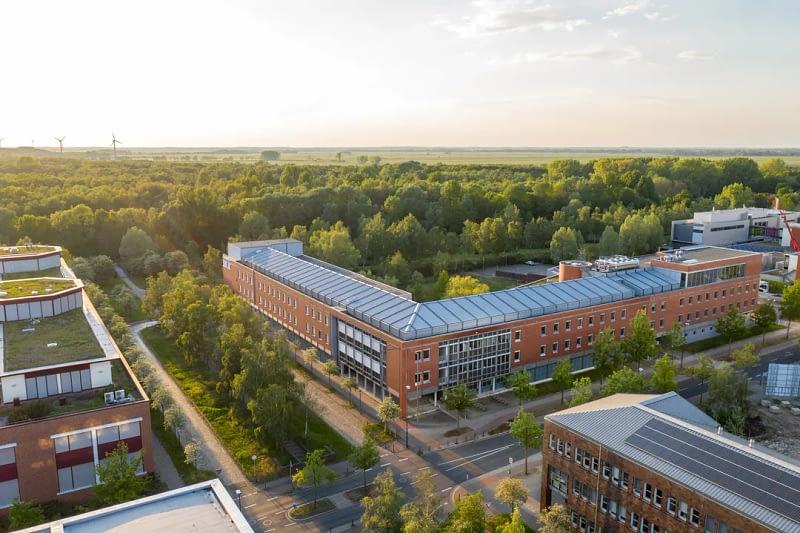 Drohnenfoto Luftaufnahme Max Planck Institut Bremen 5
