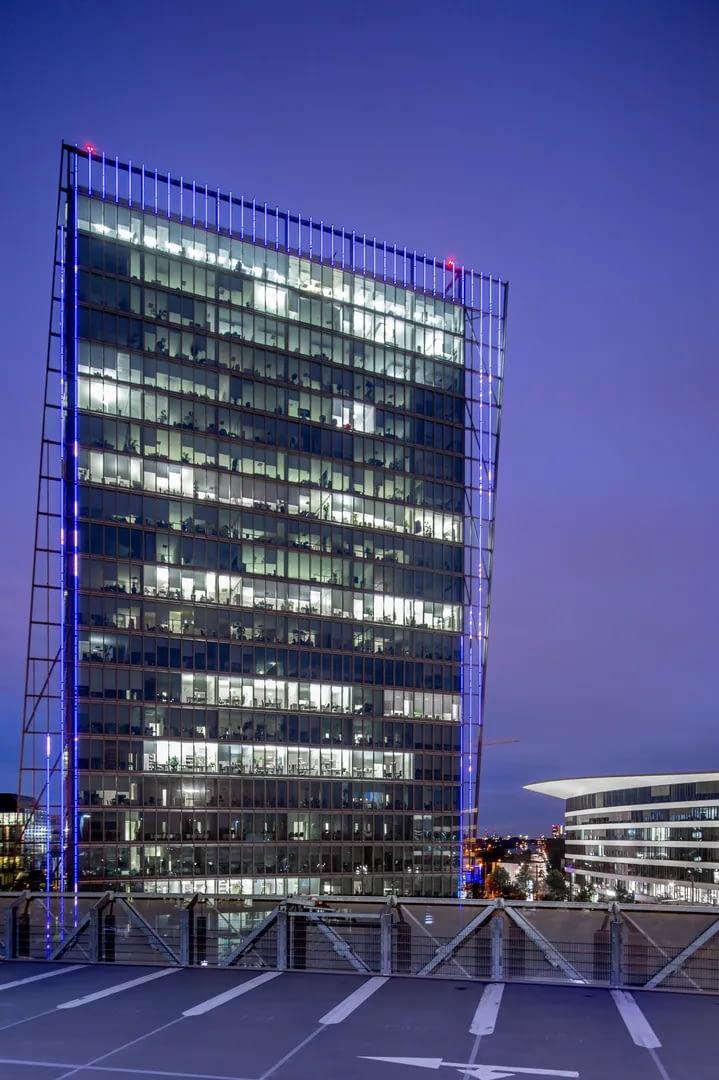 Blaue Stunde Architekturfotografie Bremen 11